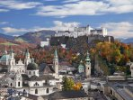Drive an hour to visit Salzburg.  The Sound of Music, City Spires and Domes.