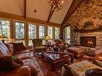 Upscale Lodge-Style Decor