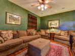 Relax & watch some football or a movie in the TV Room off of the kitchen