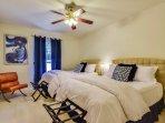 BEDROOM 3:  Two Queen Beds w/on-suite full bath