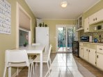 Kitchen - There's ample counter space in the kitchen for meal preparation and cooking.