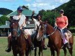 Passeggiate a cavallo con pick up in casa