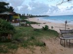 Beach just a few minutes walk from the property perfect for jogging or romantic walks