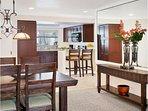 Sheraton Vistana Resort Dining Room and Kitchen