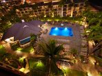 Aston Kaanapali Shores  Pool Night