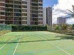 Aston at the Waikiki Banyan Tennis Court
