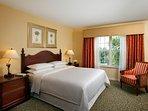 Sheraton PGA Resort Master bedroom