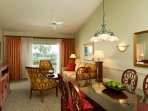 PGA Resort Living and Dining Area