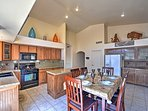 Prepare tasty homemade meals in the beautiful fully equipped kitchen