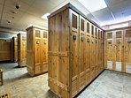 Safely store all your gear in Keystone's nicest ski locker room!