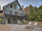 Experience the beauty of Maine when you travel to this vacation rental home in Bethel.