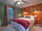 Guests are ensured peaceful slumbers on the queen-sized bed in the third bedroom.