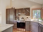 Updated kitchen with thoughtful touches