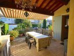 Terrace/patio - perfect for all meals.