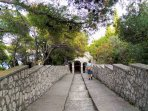 Take a walk to one of the churches above Tisno.