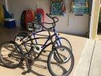 Beach bikes included