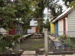 Main entrance of Belmopan Tiny Houses