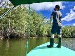 Included in your Stay, Unlimited River fishing by boat & we provide the tackle!