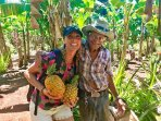 Included In stay, Tour to Jose Angles (he's 94!) fruit farm and botanical garden