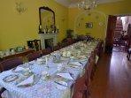 Glenmore Manor's dining room.
