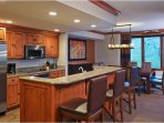 Sheraton Steamboat Two Bedroom Premium Condo Kitchen and Dining