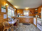 A vacation rental isn't complete without a fully equipped kitchen!