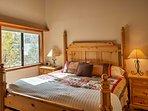 Wake up feeling rested as natural light illuminates the room.