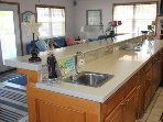 Wet bar, view of the water, relax and enjoy the beach!