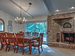 This formal dining room is perfect for special occasion.