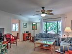 This home boasts 1,980 square feet and comfortable accommodations for up to 8 people.