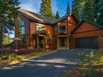 The long driveway and two-car garage makes it easy for the whole family to getaway together.