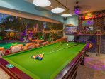 Free Play Pool/Snooker for our guests