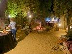 'Boma' - dine alfresco under the stars