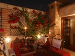 ...have a tasty Moroccan dinner under the stars!