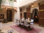 ...the heart of the riad