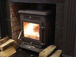 Log Burner (dining room)