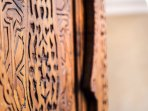 Tradiction & Authenticity: inlaid wood door
