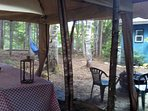 Cabin with Trails, River, Lake, Kayaks, Canoes & Paddle Boards ALL INCLUDED!