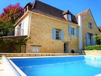 LE TERRIER : CHARMING FAMILY HOUSE WITH SUMMER KITCHEN & PRIVATE HEATED POOL