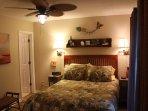 Master bedroom has en suite bathroom and cable TV.