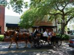 Enjoy downtown historic Fernandina Beach, just a short drive from the condo.