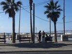 new promenade at Geula