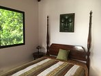 Tranquil bedroom with Queen size orthopedic bed and sliding glass door to your private balcony.