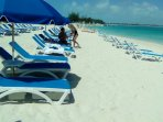 54 beach chairs  Beach Butlers to assist you