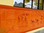 Terracota on the wall - A Quintessential essence of Birbhum