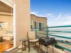 Bedroom and Balcony Ocean View
