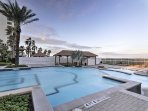 Situated in the Sapphire Condominiums, you'll have access to 2 private swimming pools, a full-service day spa, wine...
