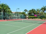2 Private Tennis Courts