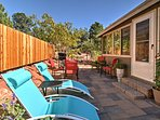 Red Rock Country awaits at this 2-bedroom, 2-bathroom vacation rental house in Sedona!