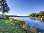 Private lake access ensures a fulfilling vacation to the Poconos area!